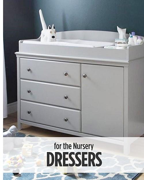 Dressers for the Nursery