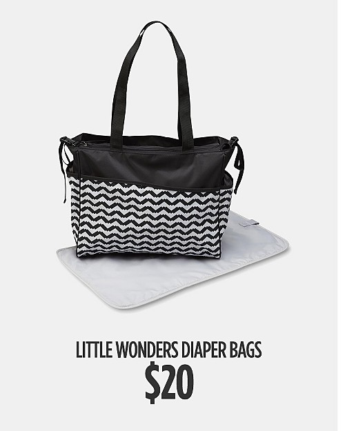 $20 Little Wonders Diaper Bags. Shop now