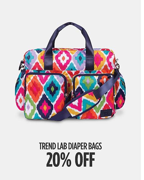 20% off Trend Lab Diaper Bags. Shop now