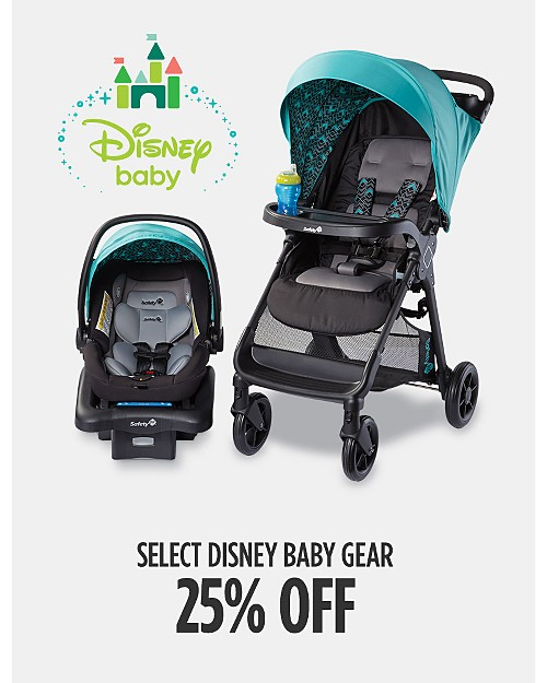 25% off Select Disney Baby Gear. Shop now