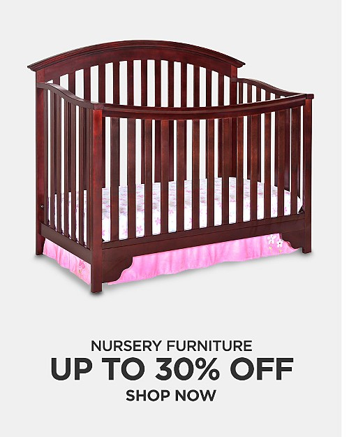 Up to 30% off Nursery Furniture. Shop now
