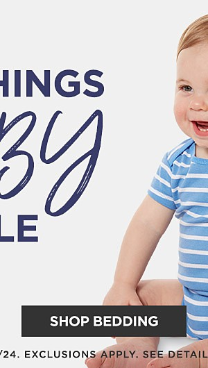All things baby sale. Shop Bedding