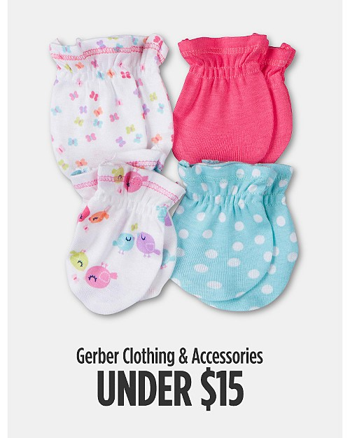 Gerber Clothing & Accessories Under $15. Shop now