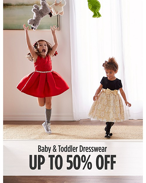 Up to 50% Off Baby & Toddler Dresswear