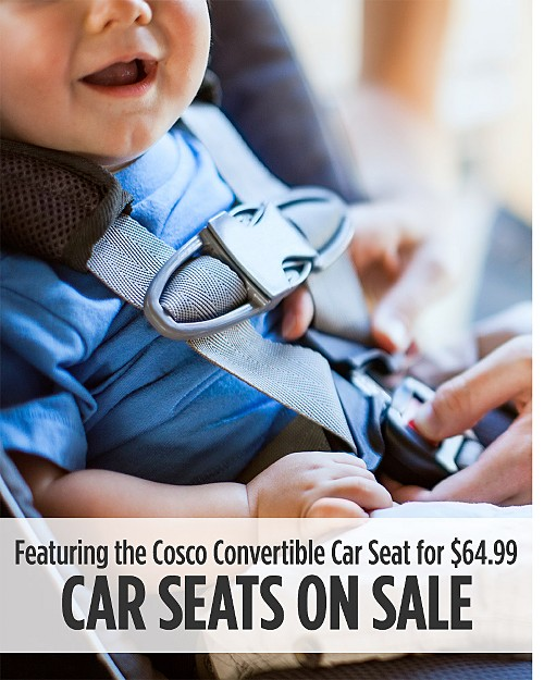 Care Seats on Sale Featuring the Cosco Convertible Car Seat for $64.99