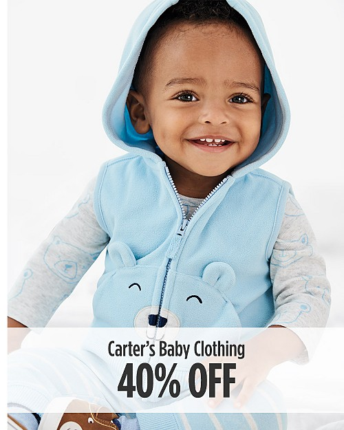 40% off Carter's Baby Clothing