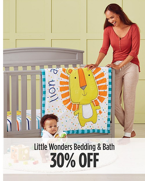 30% Off Little Wonders Bedding & Bath