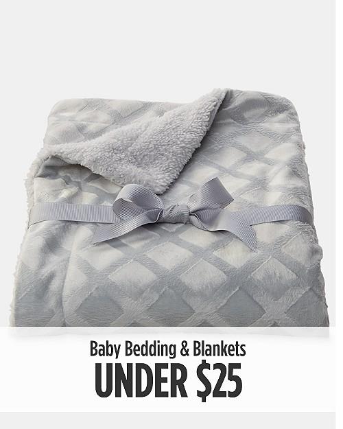 Baby Bedding & Blankets Under $25
