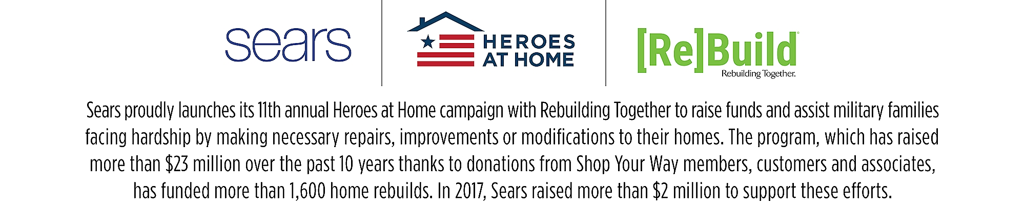 Heroes at Home - Sears