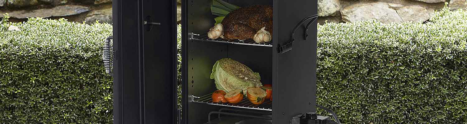 Electric Smoker with Poultry
