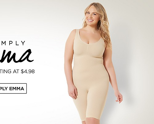 Simply Emma Plus Intimates&#x3b; Plus Shapewear&#x3b; Plus Bras&#x3b; Plus Panties