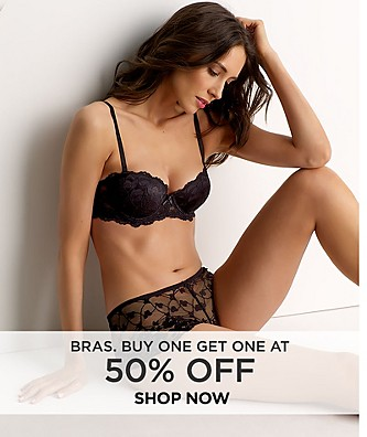 Bras Buy One Get One at 50% off