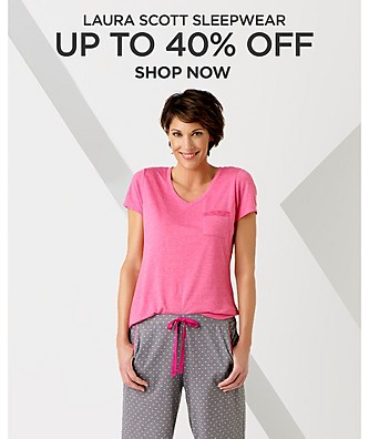 up to 40% off Laura Scott Sleepwear