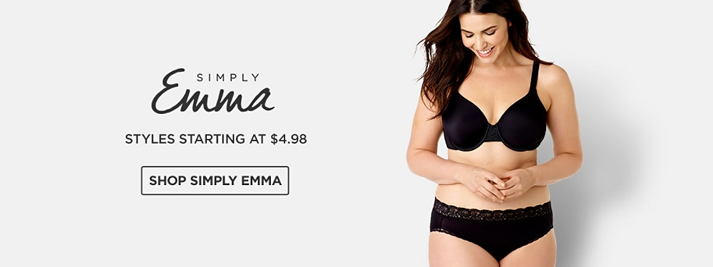 Simply Emma Styles starting at $4.98