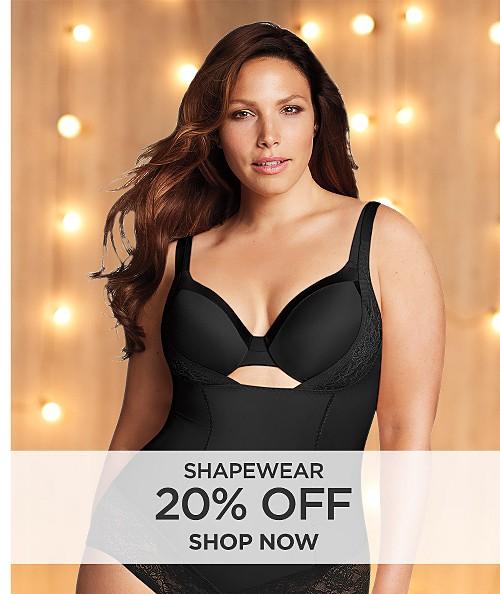 20% off Shapewear. Shop now