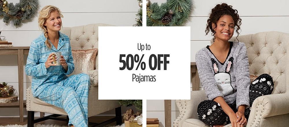 Up to 50% Off Pajamas