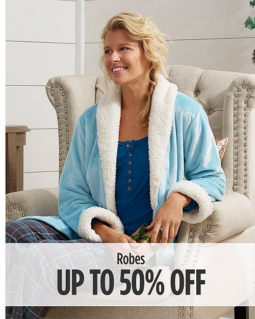 Up to 50% Off Robes