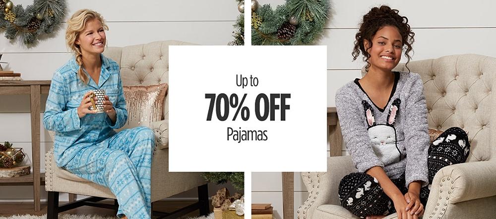 Up to 70% Off Pajamas