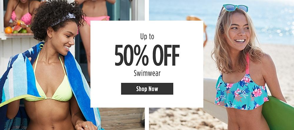 Up to 50% off Swimwear