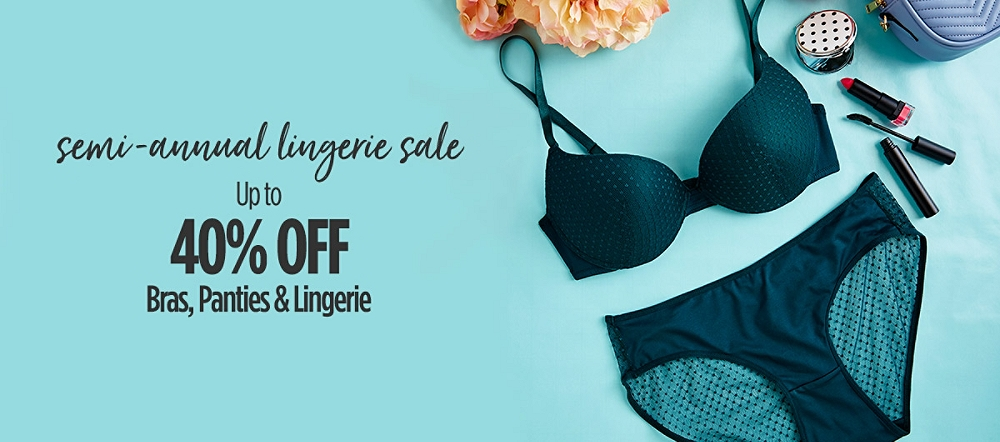 35cc41c7bf Semi-Annual Lingerie Sale!
