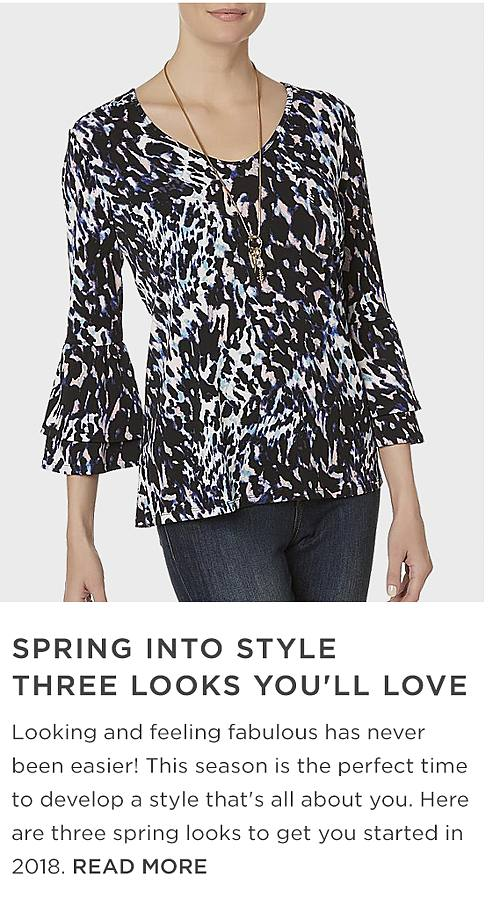 Spring into style three looks you'll love