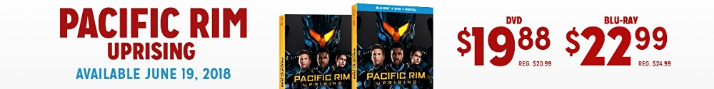 Pacific Rim available 6/19 on DVD and Blu-ray