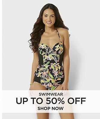 Swimwear up to 50% off
