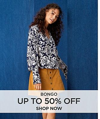Up to 50% off Bongo
