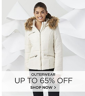 Outerwear save up to 65% off
