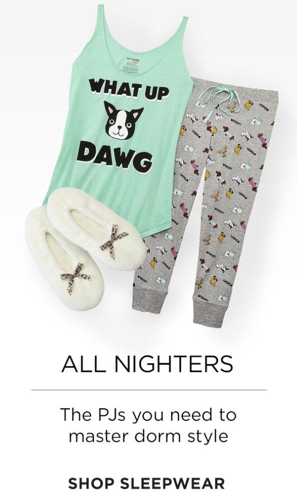 Ver ropa de dormir