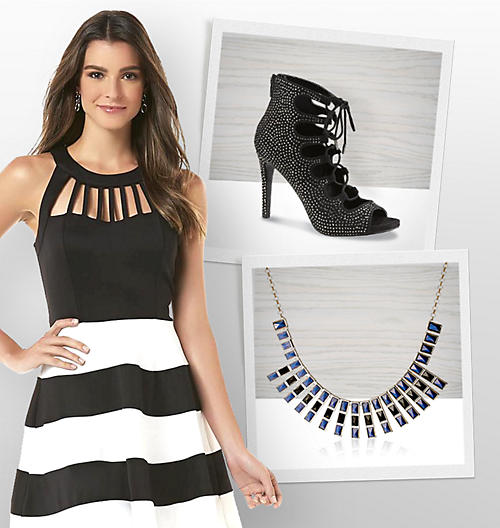 Shop Homecoming Dresses for Juniors Jewelry Shoes Heels Earring Necklace