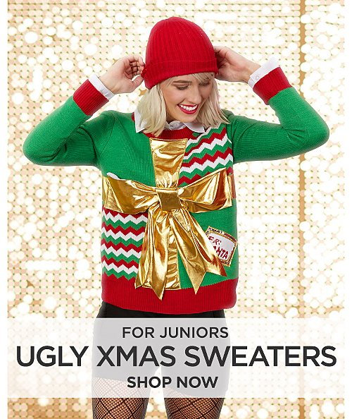 Ugly Christmas Sweaters for Juniors. Shop now