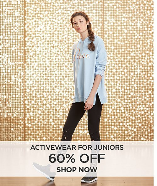 60% off Activewear for Juniors. Shop now