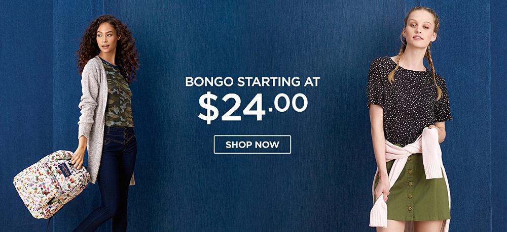 Bongo Starting at $24.00. Shop Now
