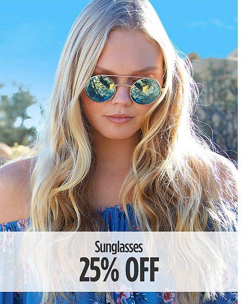 25% off Sunglasses