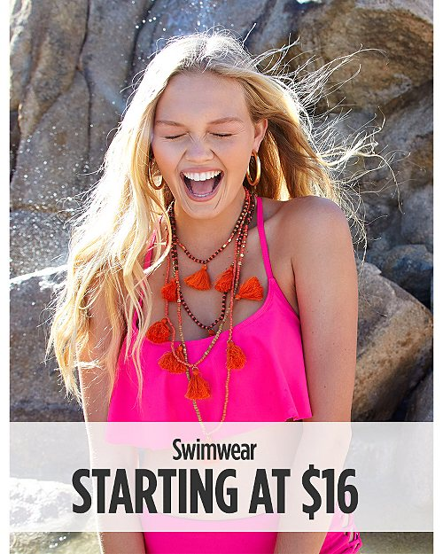 Swimwear Starting at $16
