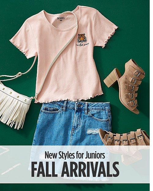Shop New Juniors Fall Arrivals!