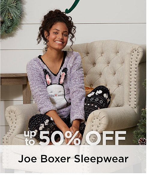Up to 50% off Joe Boxer Sleepwear