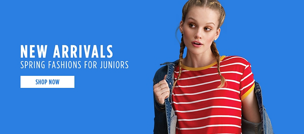 New Spring Arrivals for Juniors! Shop now