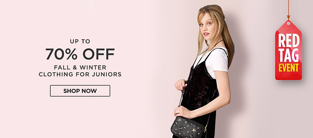 Up to 70% Off Juniors Fall & Winter Fashions