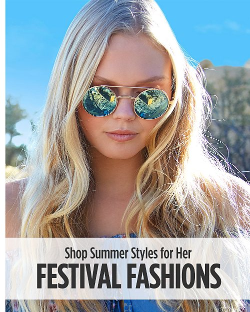 Shop Summer Festival Fashions for Her
