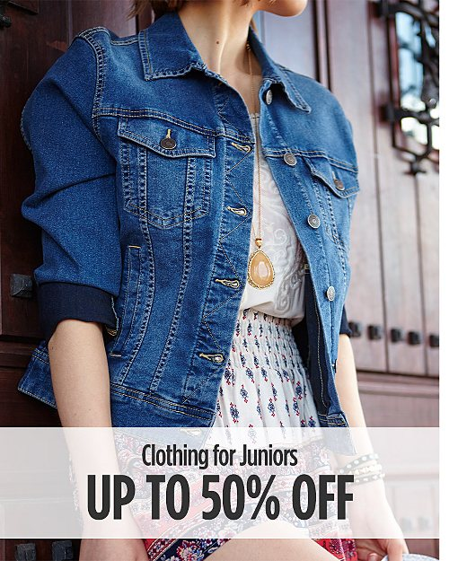 Up to 50% off Clothing for Juniors