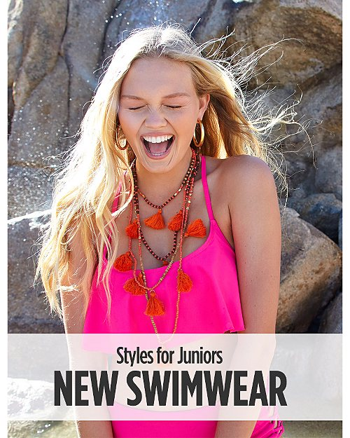 New Swimwear for Juniors. Shop now
