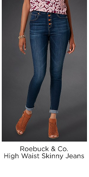 Roebuck & Co. Women's High Waist Skinny Jeans