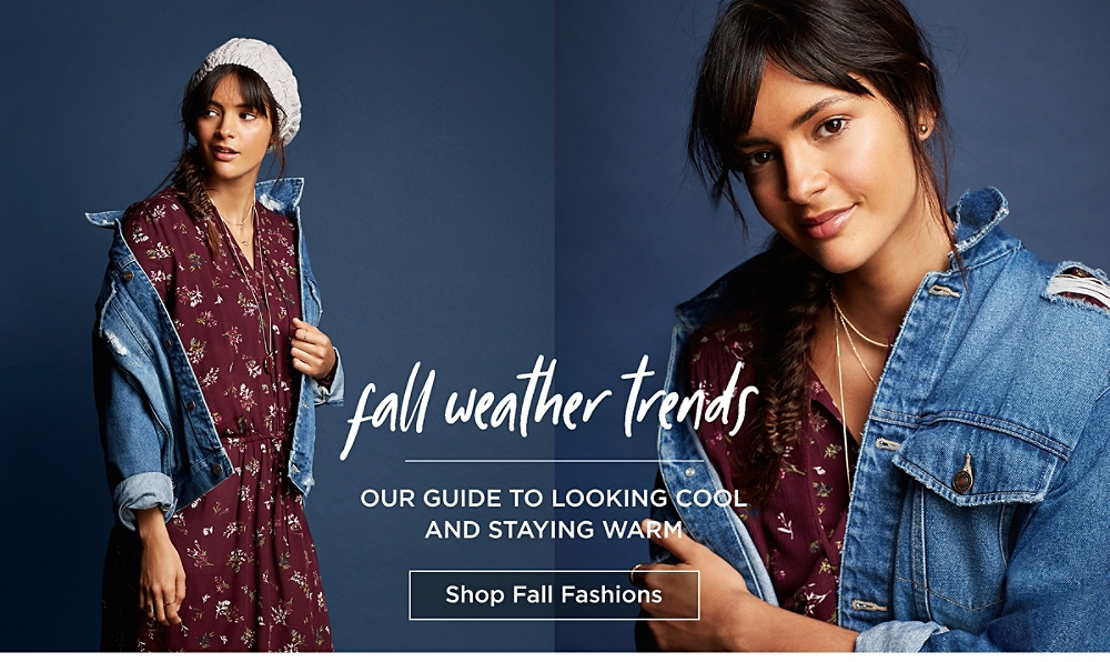 Fall weather trends! Out guide to looking cool and staying warm