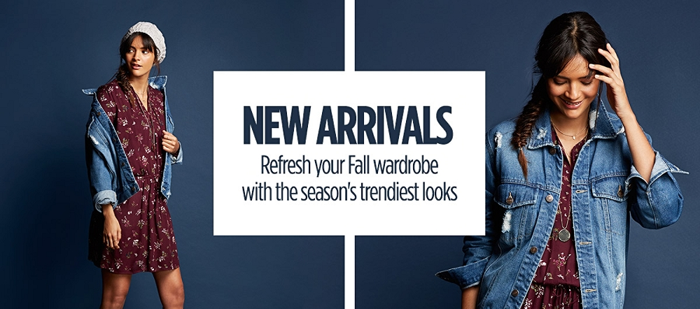 Fall Arrivals! Shop New Styles for Juniors