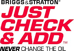 Briggs & Stratton Just Check And Add Engine