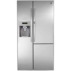 Kenmore 26.1 cu. ft. Side-by-Side Refrigerator with Grab-N-Go Door