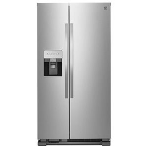 Kenmore 25 cu. ft. Side-by-Side Refrigerator with Ice & Water Dispenser