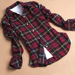 Laid out layered flannel